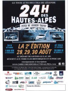 AFFICHE 24H DES HAUTES-ALPES