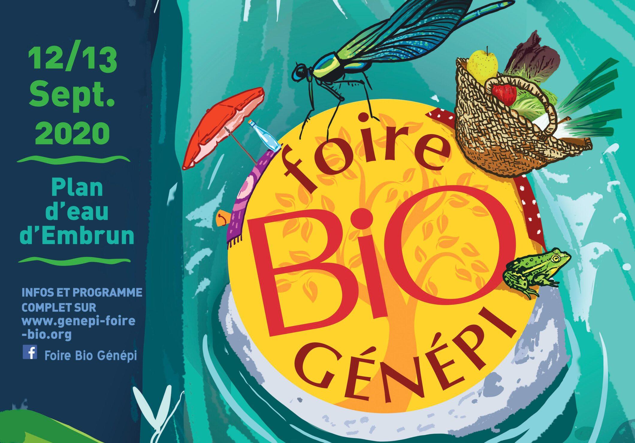 Affiche de la foire bio génépi