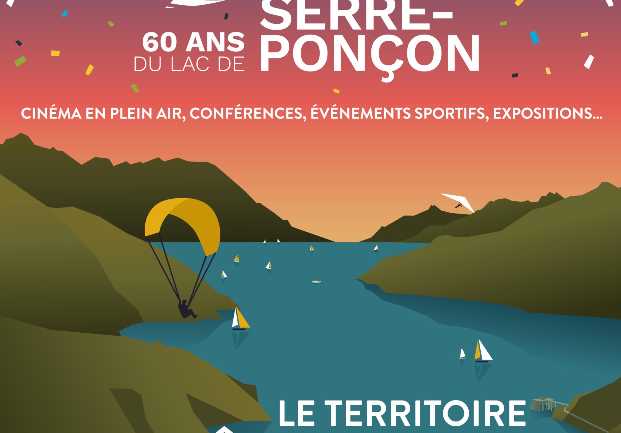 60 ans du lac de Serre-Ponçon